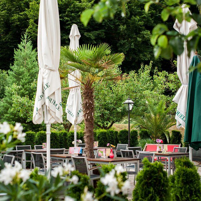 Gastgarten im Grünen