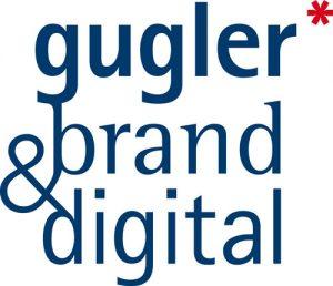 Logo der Agentur gugler* brand & digital