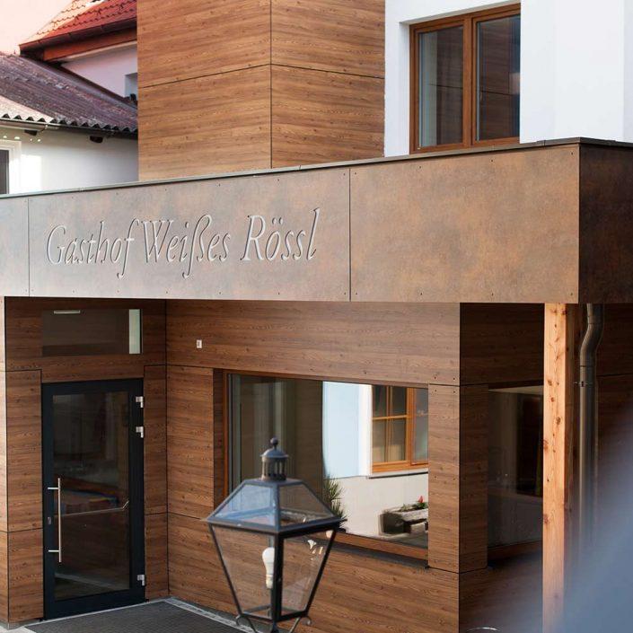 Eingangsbereich Gasthof Weißes Rössl